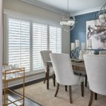 Custom Shutters for Dining Rooms in Charlotte, North Carolina (NC)