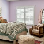 Custom Shutters for Traditional Bedrooms in Charlotte, North Carolina (NC)