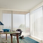 Luminette® Privacy Sheers in a Den