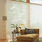 Luminette® Privacy Sheers in a Living Room