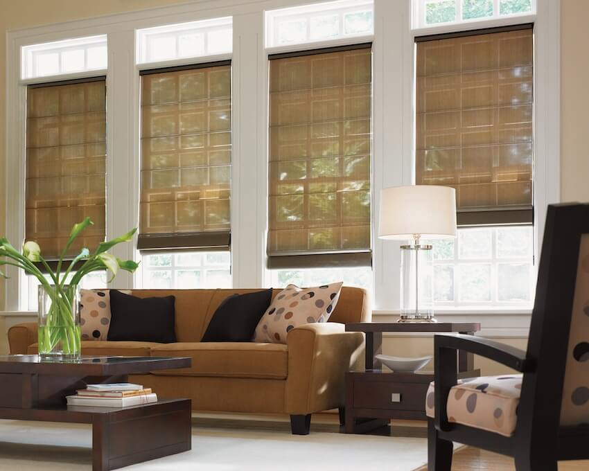 Hunter Douglas Roman Shades from A Shade Above