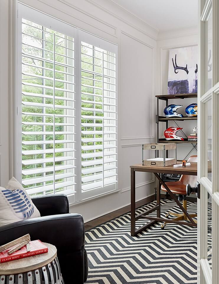 Artisan Shutters by A Shade Above for Homes Offices in Charlotte, North Carolina (NC)
