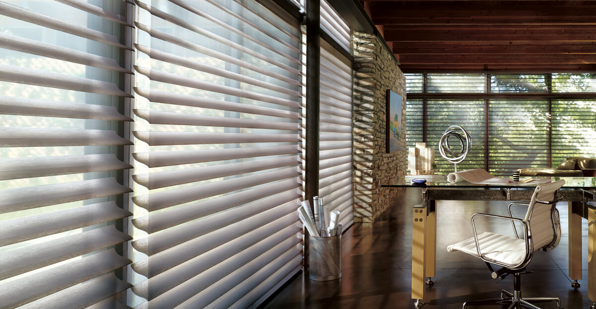 motorized blinds and shades in Charlotte, NC homes