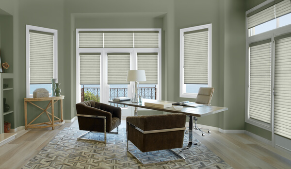 Sonnette Cellular Roller Shades in Charlotte, NC homes