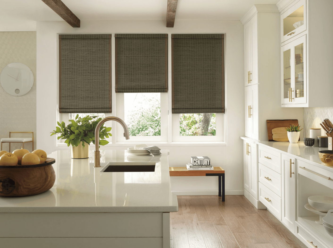 Which Home Rooms Need Custom Woven Wood Shades in Charlotte, North Carolina (NC)