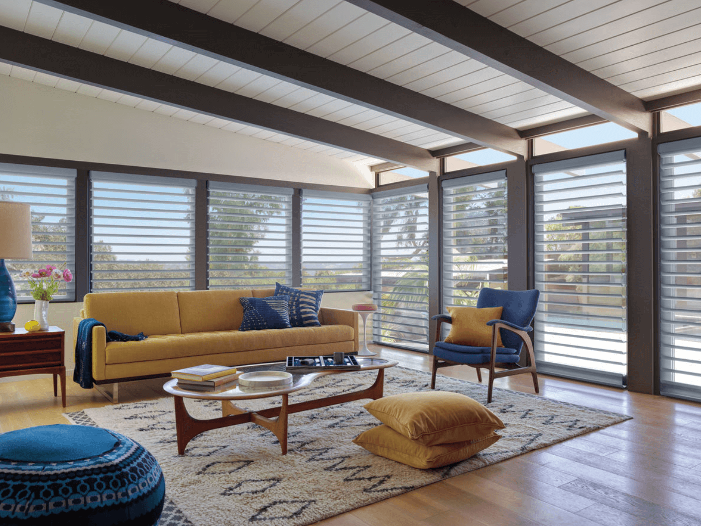 Sheer Shadings Can Bring Natural Light to Homes in Charlotte, North Carolina (NC)