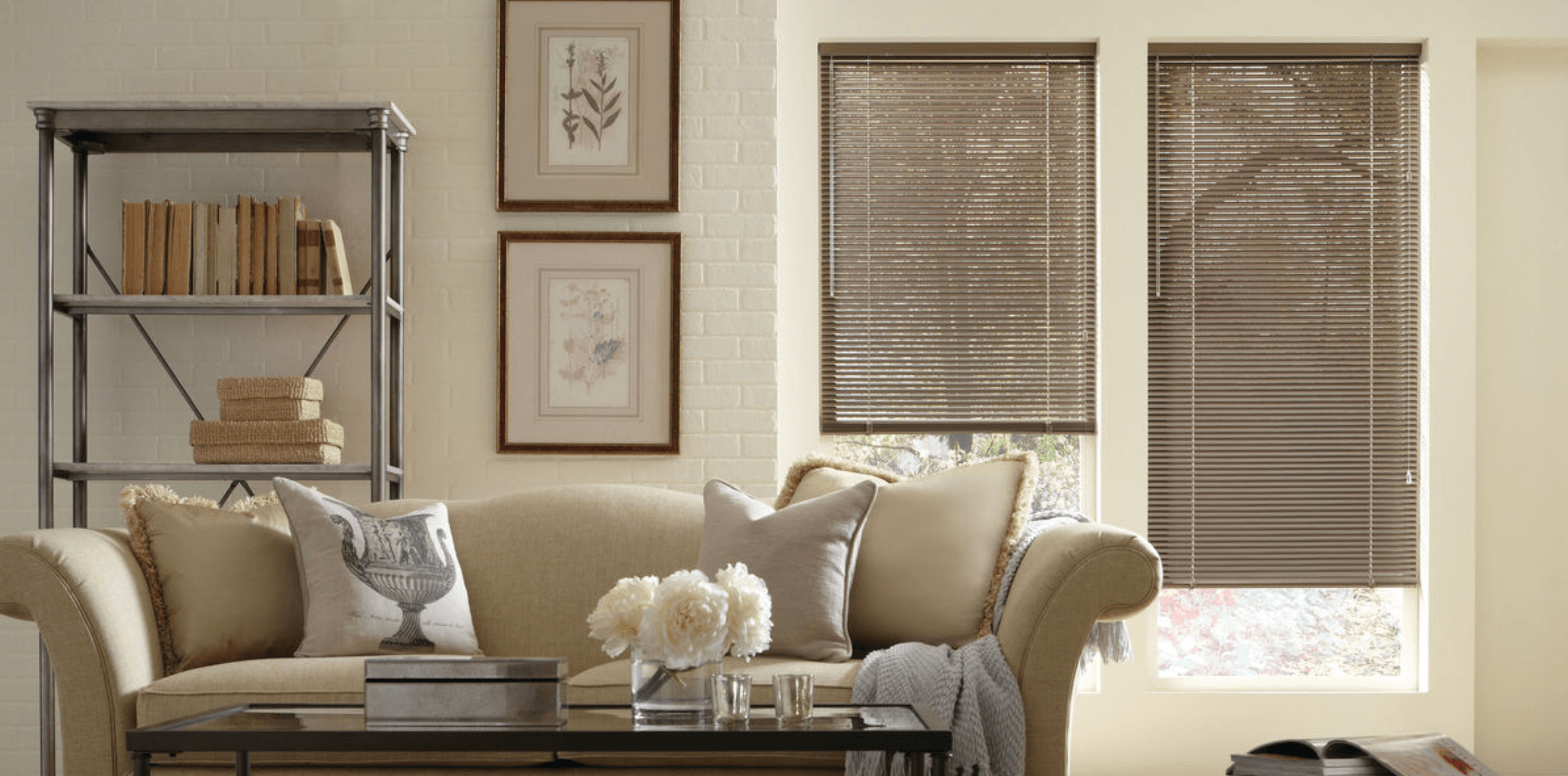 Home Window Treatments that Offer Rustic Decor in Charlotte, North Carolina (NC) like Custom Blinds