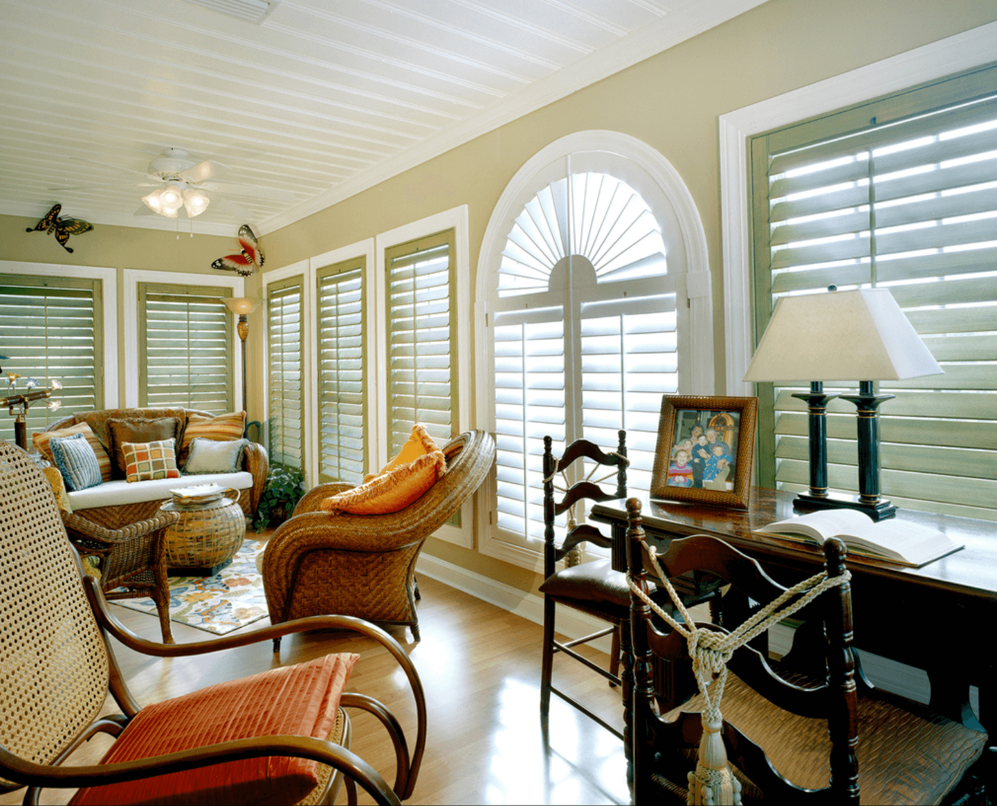 Choosing Custom Wood Shutters for Homes in Charlotte, North Carolina (NC) like Artisan