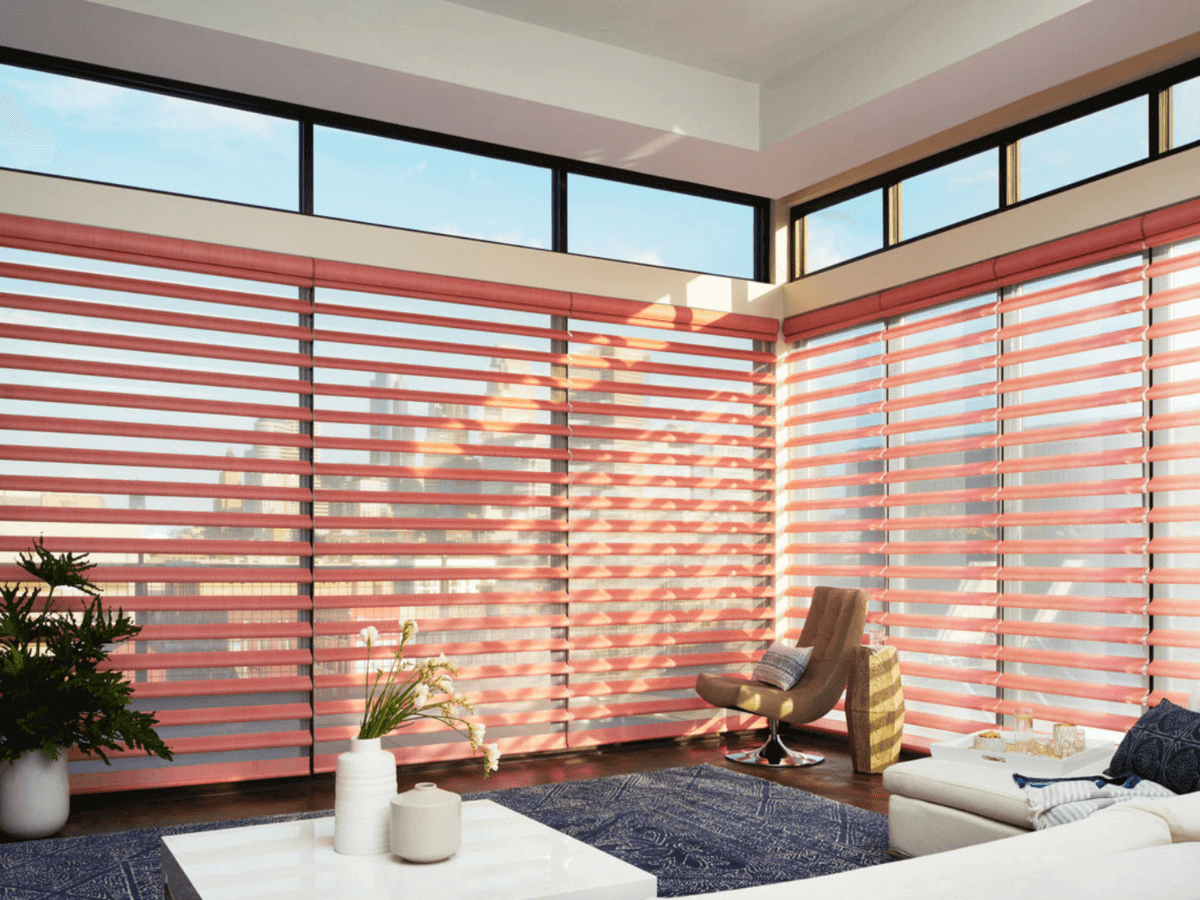 Why Sheer Shadings Are Perfect for Homes Near Charlotte, North Carolina (NC) like Pirouette Window Styles