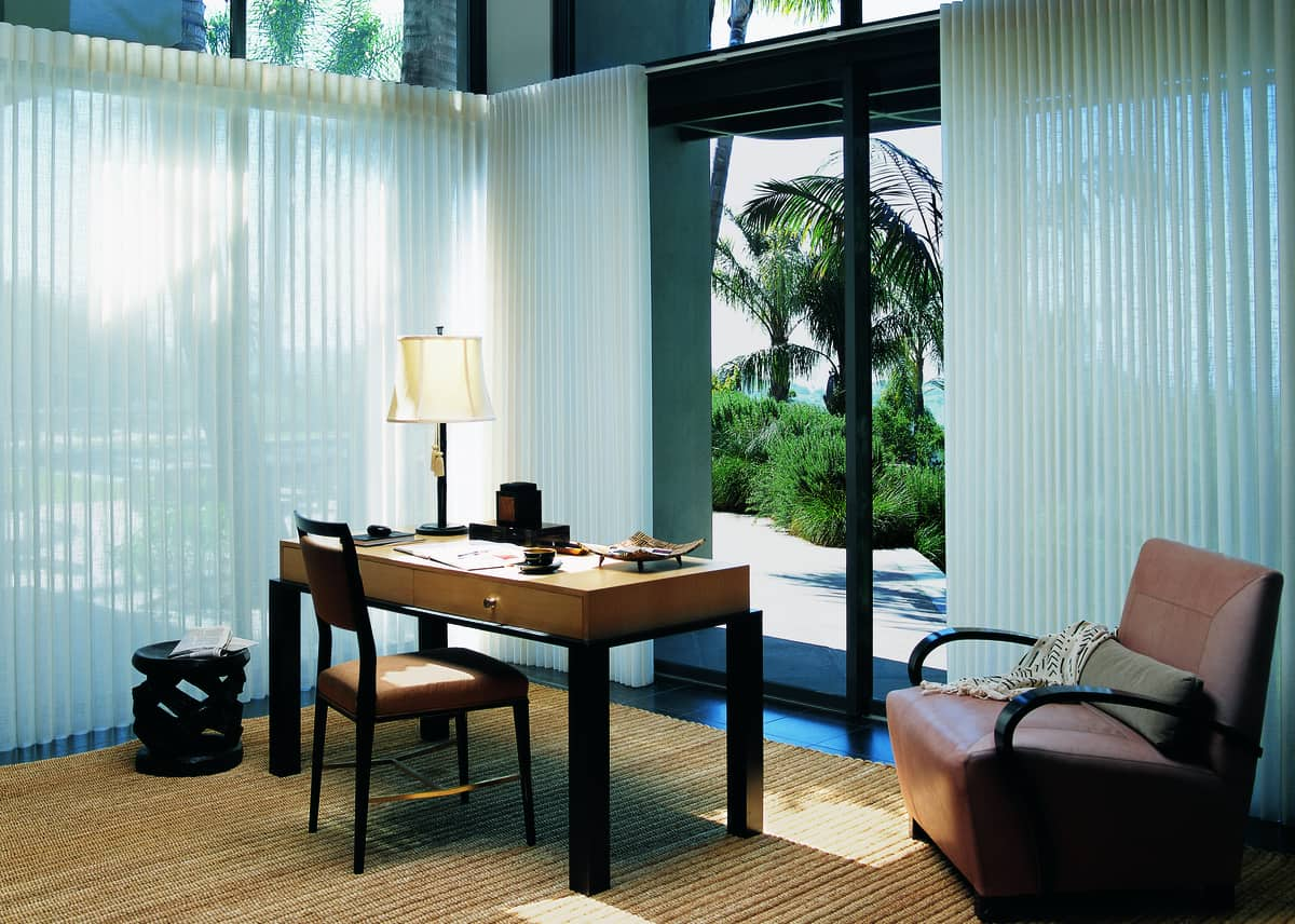 Adding Sheers and Shadings near Myrtle Beach, South Carolina (SC) including Luminette® Privacy Sheers