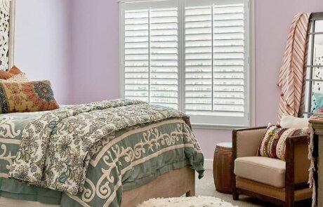 Teen's Bedroom Shutters