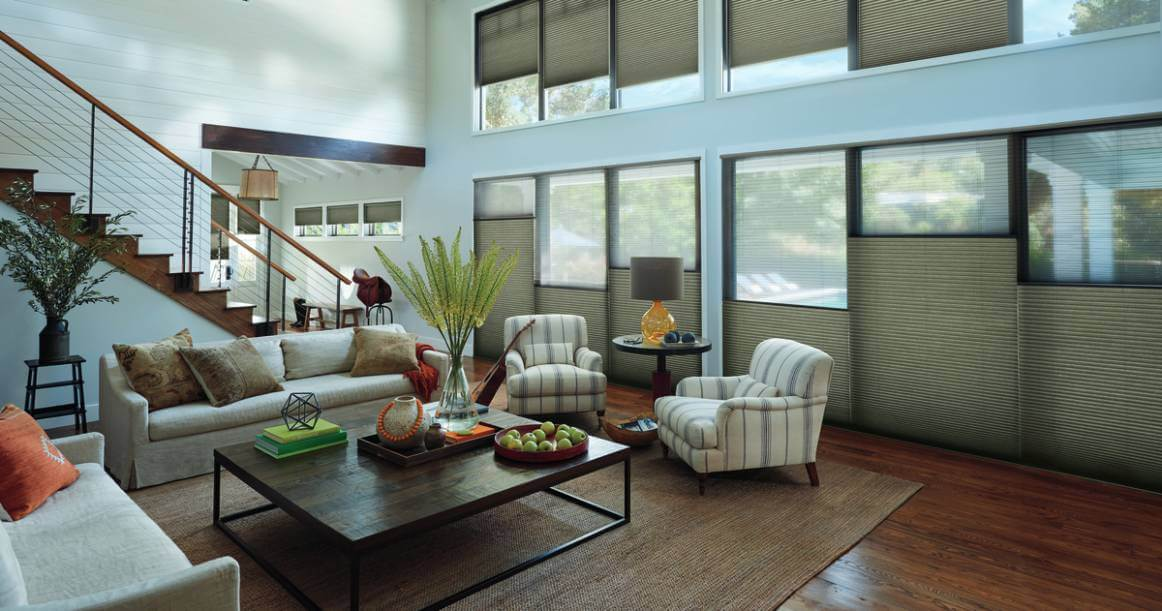 Integrating Honeycomb Shades near Myrtle Beach, South Carolina (SC) including Duette® Honeycomb Cellular Shades